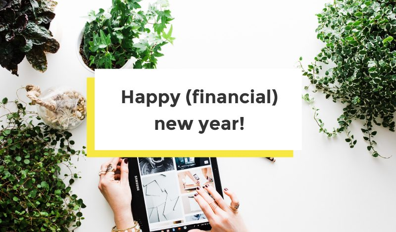 marketing goals for the new financial year
